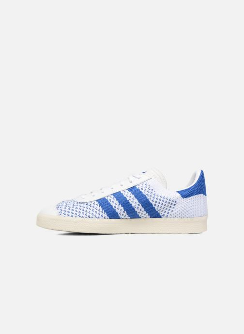 Sneaker adidas originals Gazelle Pk weiß ansicht von vorne