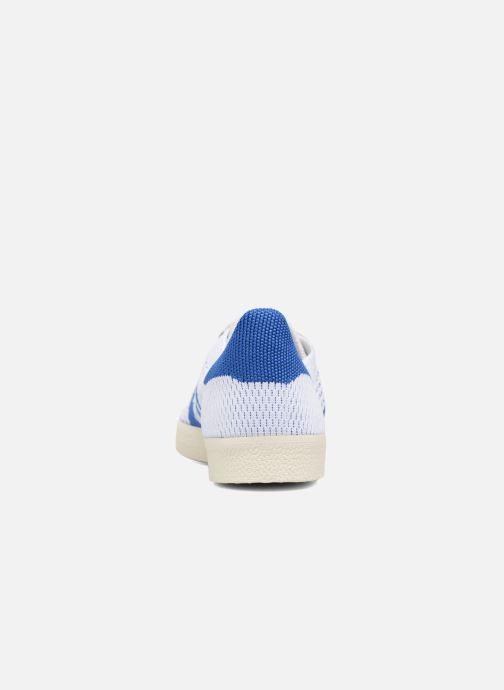 Baskets adidas originals Gazelle Pk Blanc vue droite