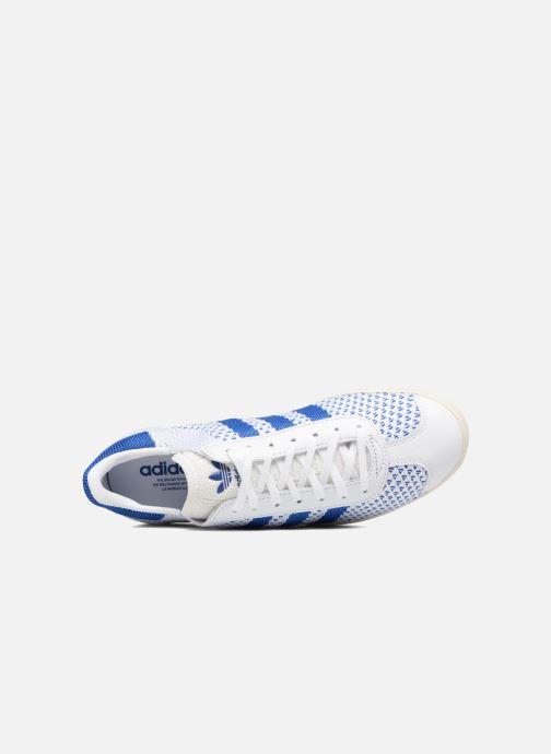 Baskets adidas originals Gazelle Pk Blanc vue gauche