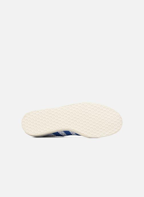 Sneakers Adidas Originals Gazelle Pk Bianco immagine dall'alto