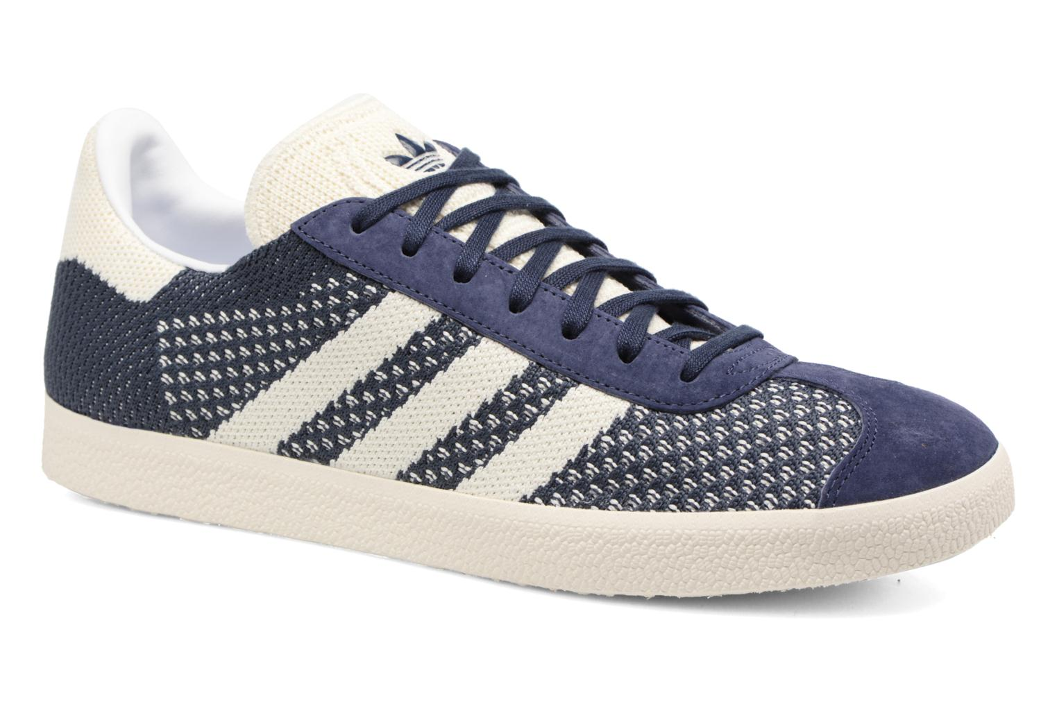 Baskets Adidas Originals Gazelle Pk Bleu vue détail/paire