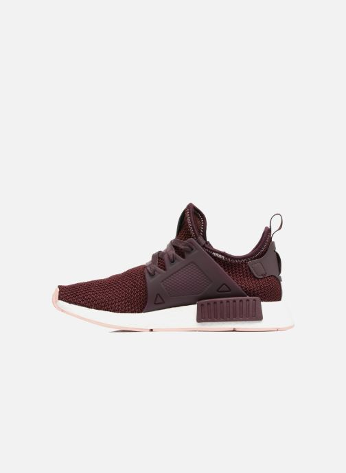 Trainers adidas originals Nmd_Xr1 W Burgundy front view