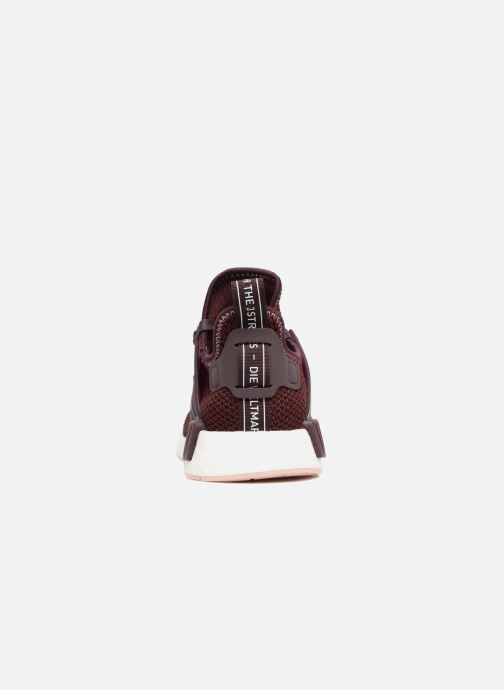 Trainers adidas originals Nmd_Xr1 W Burgundy view from the right