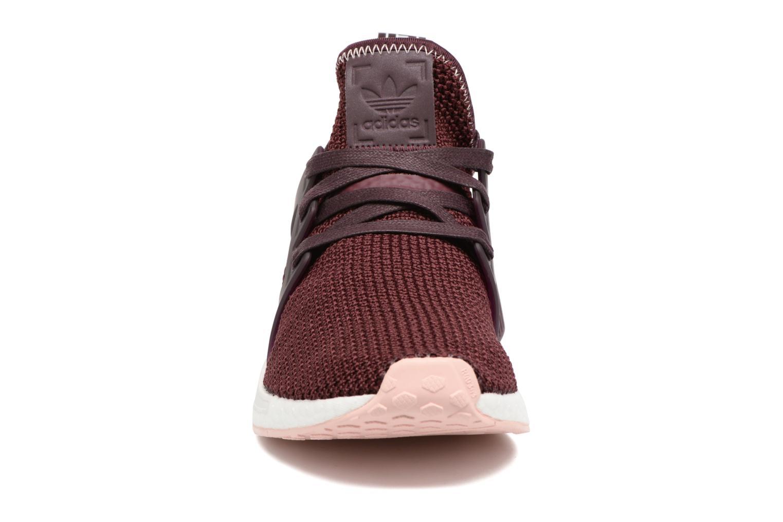 Baskets Adidas Originals Nmd_Xr1 W Bordeaux vue portées chaussures