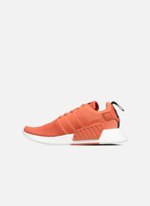 Trainers adidas originals Nmd_R2 Red front view