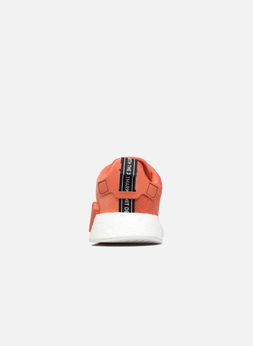 Trainers adidas originals Nmd_R2 Red view from the right