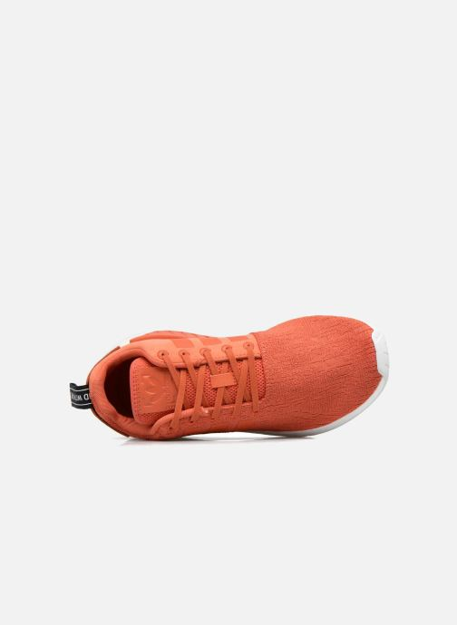 Trainers adidas originals Nmd_R2 Red view from the left