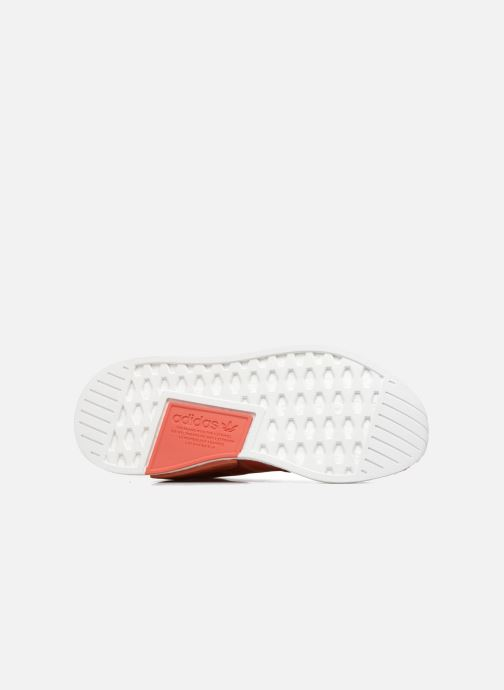 Trainers adidas originals Nmd_R2 Red view from above