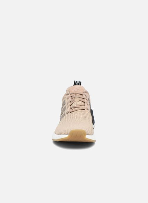 Trainers Adidas Originals Nmd_R2 Beige model view