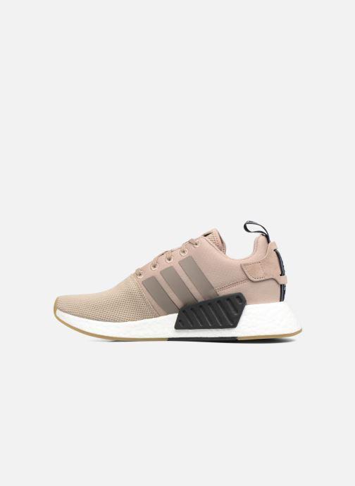 Sneakers adidas originals Nmd_R2 Beige voorkant