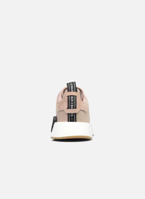Sneaker adidas originals Nmd_R2 beige ansicht von rechts