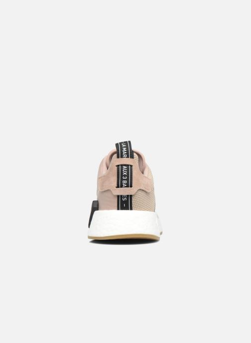Trainers Adidas Originals Nmd_R2 Beige view from the right