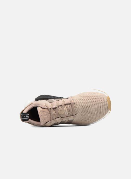 Sneaker adidas originals Nmd_R2 beige ansicht von links