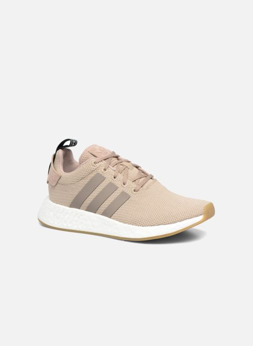 Baskets adidas originals Nmd_R2 Beige vue détail/paire