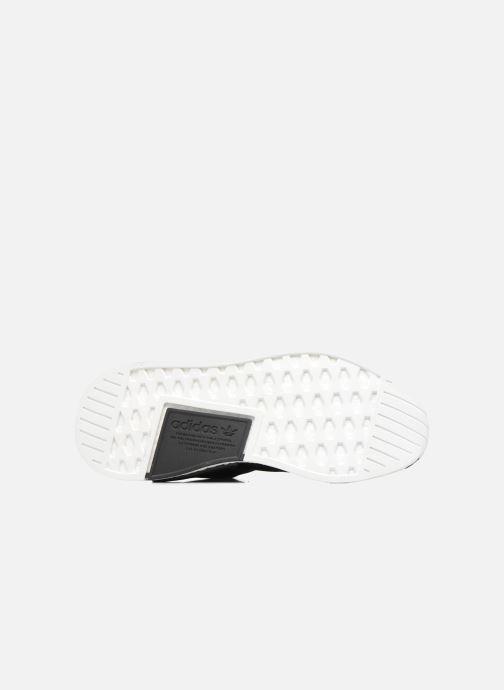 Sneaker adidas originals Nmd_R2 schwarz ansicht von oben