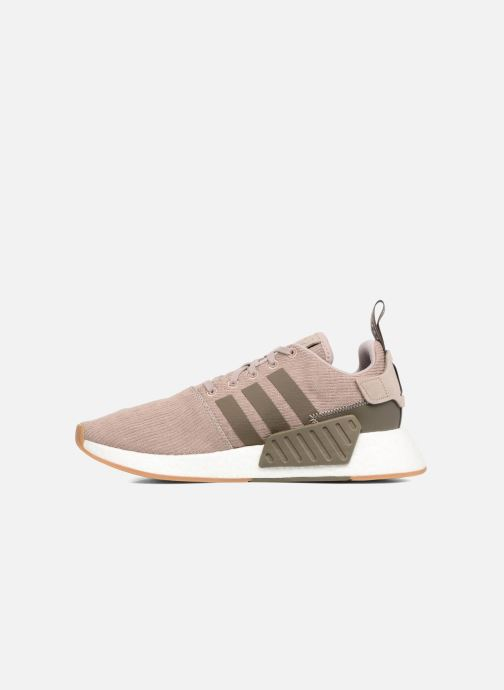 Sneakers adidas originals Nmd_R2 Bruin voorkant