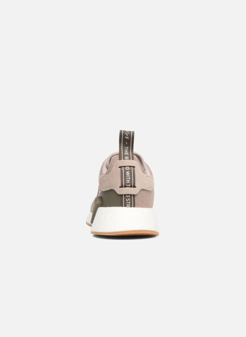 Baskets adidas originals Nmd_R2 Marron vue droite