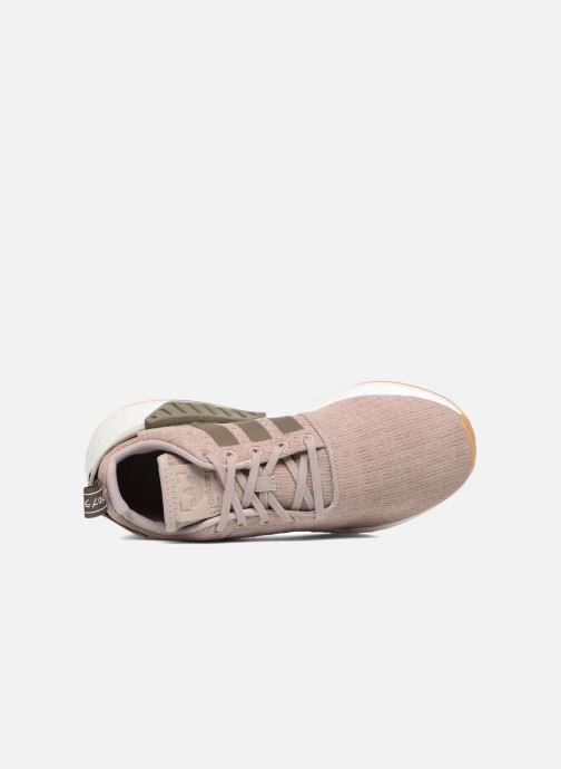 Sneakers adidas originals Nmd_R2 Marrone immagine sinistra