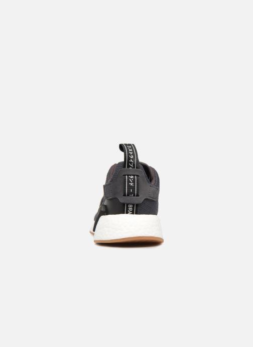 Sneakers adidas originals Nmd_R2 Svart Bild från höger sidan