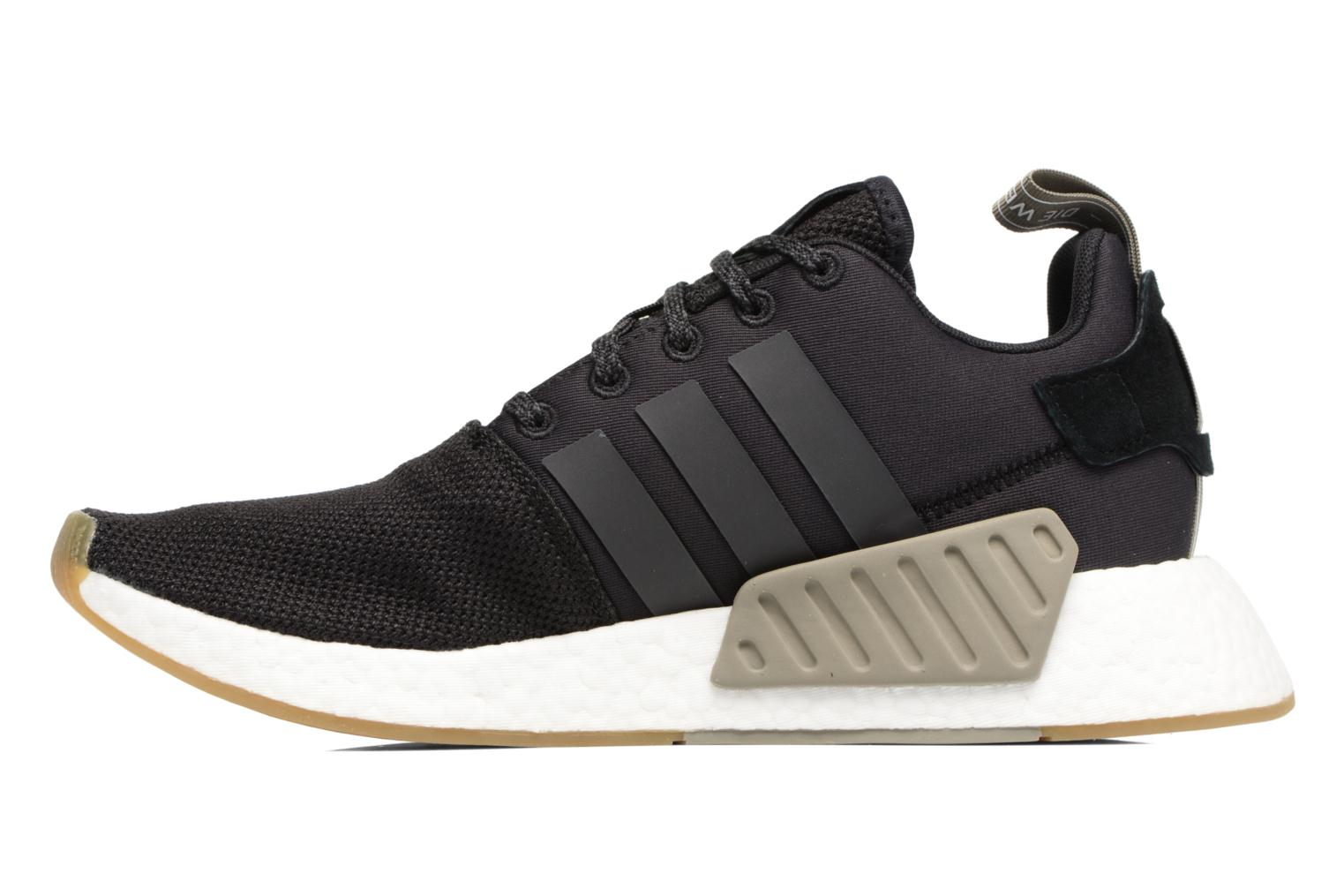 Trainers Adidas Originals Nmd_R2 Black front view