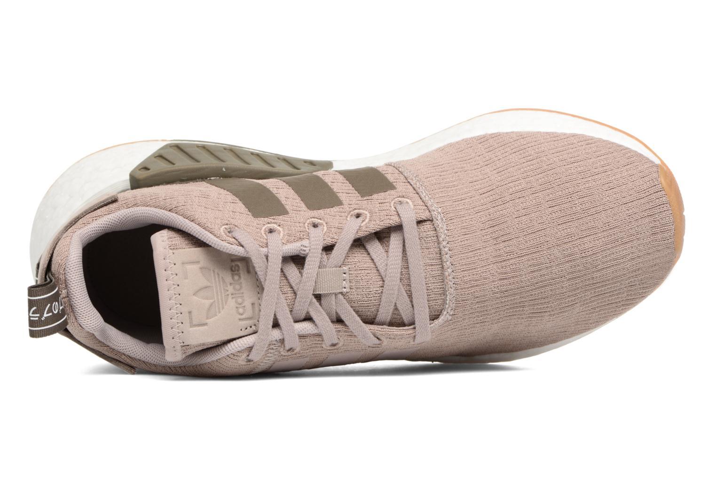 Sneaker Adidas Originals Nmd_R2 braun ansicht von links