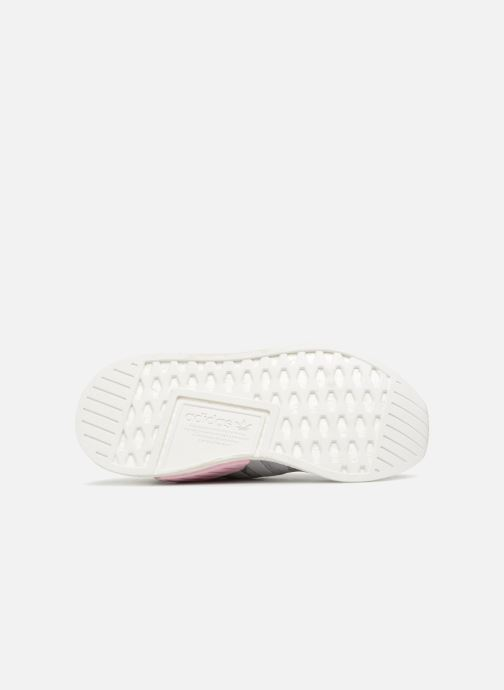 Trainers Adidas Originals Nmd_R2 Pk W Grey view from above