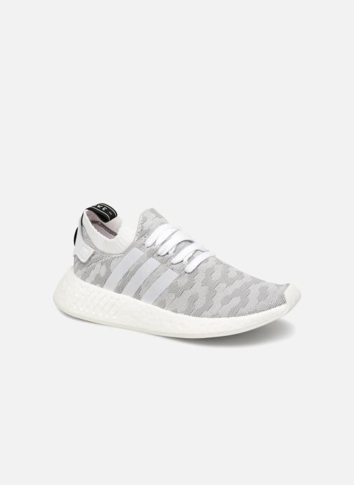 Trainers adidas originals Nmd_R2 Pk W Grey detailed view/ Pair view