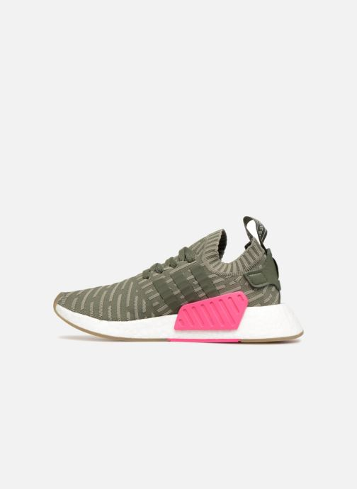 Trainers Adidas Originals Nmd_R2 Pk W Green front view