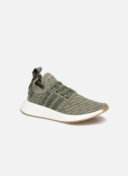 Trainers adidas originals Nmd_R2 Pk W Green detailed view/ Pair view