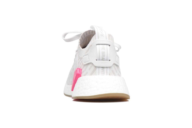 Baskets Adidas Originals Nmd_R2 Pk W Gris vue droite