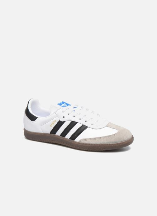 wholesale dealer df8b0 e8e87 Baskets adidas originals Samba Og Blanc vue détail paire