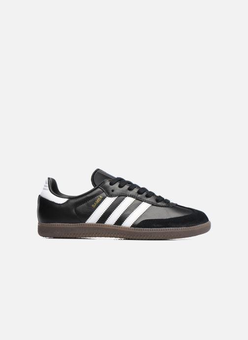 Sneaker adidas originals Samba Og schwarz ansicht von hinten
