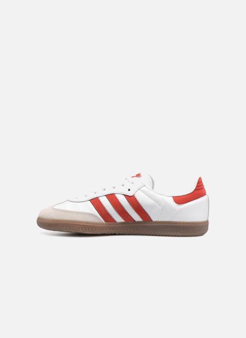 Deportivas adidas originals Samba Og Rojo vista de frente
