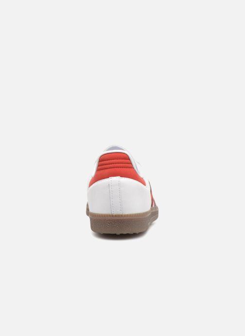 Deportivas adidas originals Samba Og Rojo vista lateral derecha