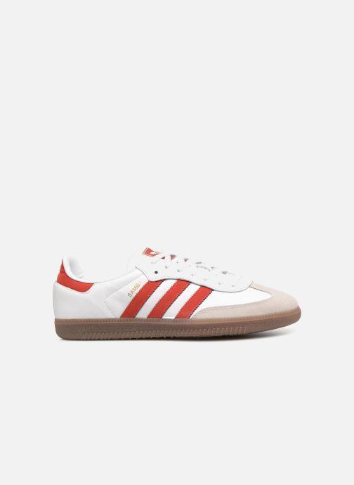 Deportivas Adidas Originals Samba Og Rojo vistra trasera