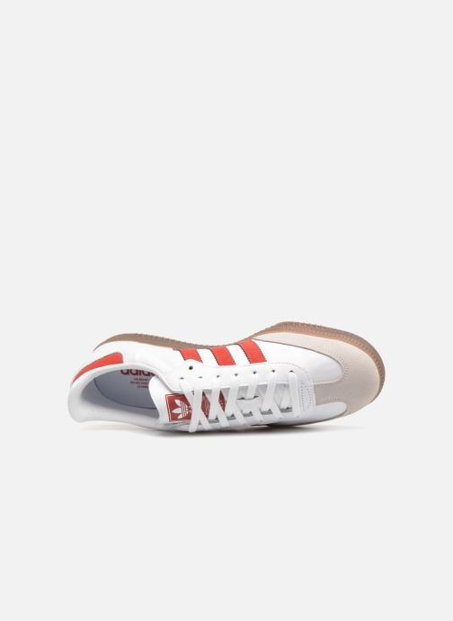 Sneaker adidas originals Samba Og rot ansicht von links