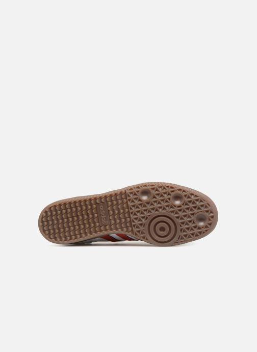 Sneaker adidas originals Samba Og rot ansicht von oben