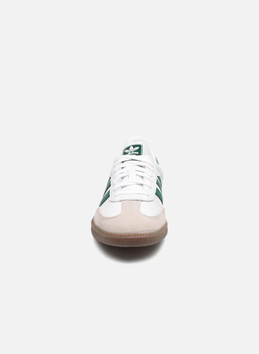 Baskets Adidas Originals Samba Og Vert vue portées chaussures
