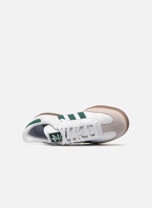 Sneaker adidas originals Samba Og grün ansicht von links