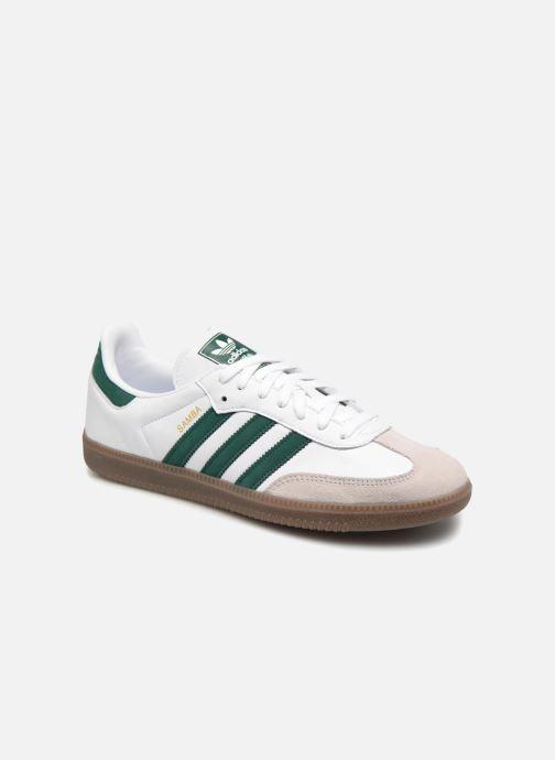 Baskets Adidas Originals Samba Og Vert vue détail/paire