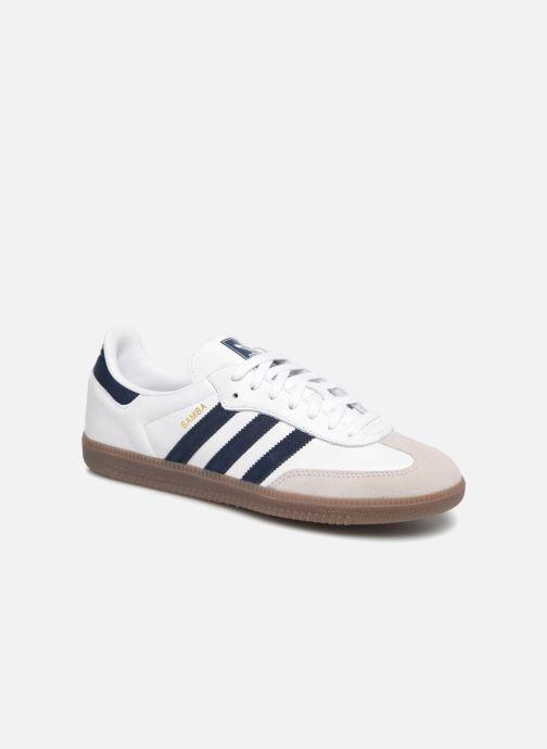 Baskets Adidas Originals Samba Og Blanc vue détail/paire