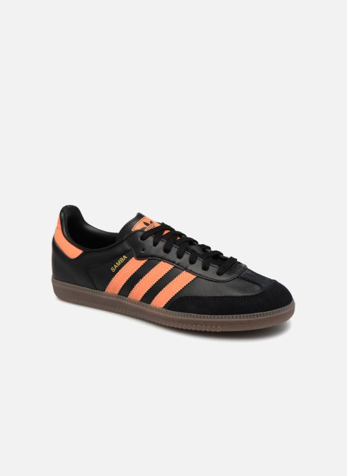 adidas samba homme noir orange