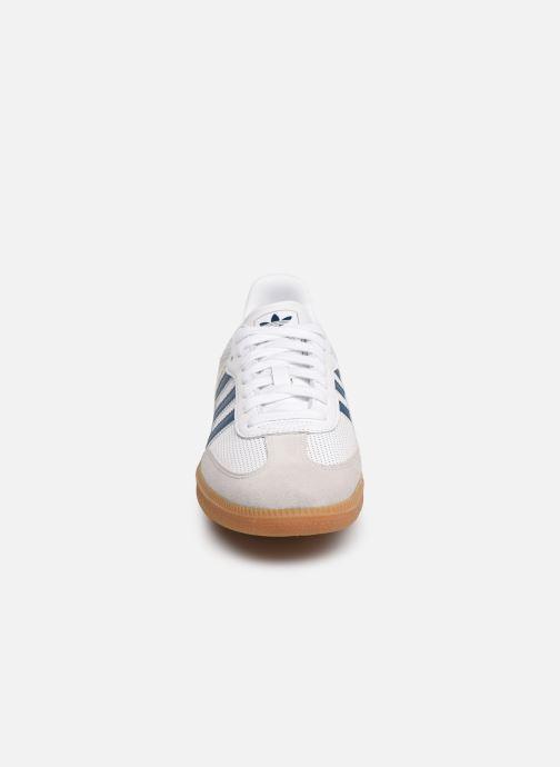 Baskets adidas originals Samba Og Blanc vue portées chaussures