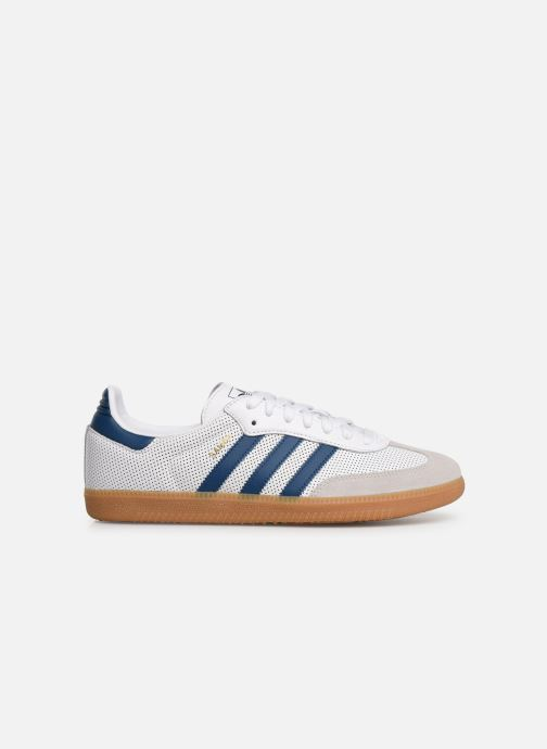 Baskets adidas originals Samba Og Blanc vue derrière