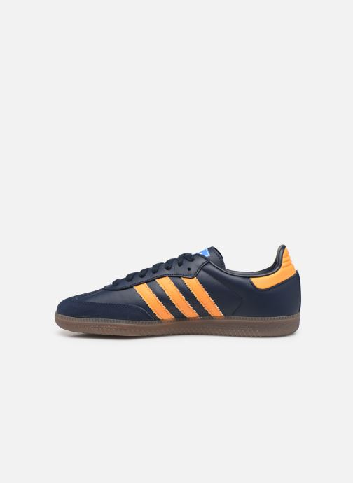 Baskets adidas originals Samba Og Bleu vue face
