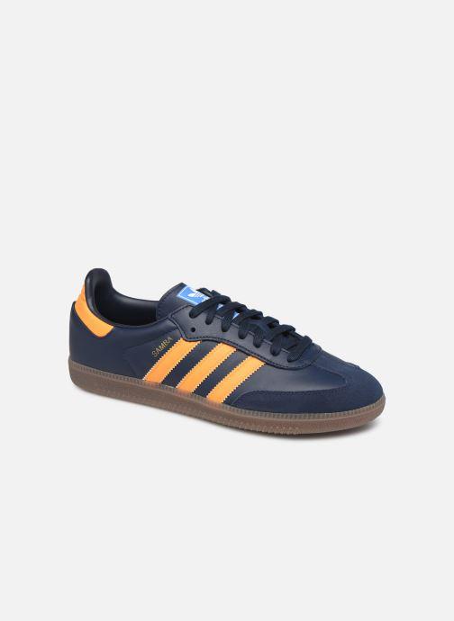 Sneakers adidas originals Samba Og Blauw detail