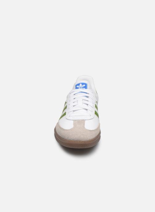 Sneaker adidas originals Samba Og weiß schuhe getragen