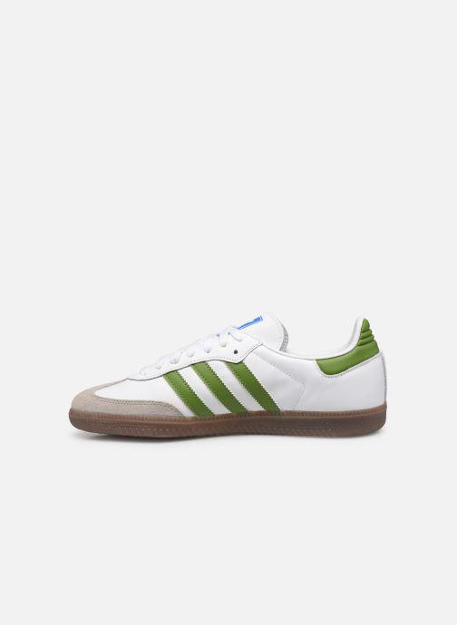 Sneaker adidas originals Samba Og weiß ansicht von vorne