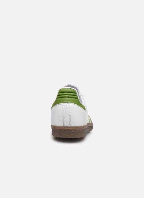 Sneaker adidas originals Samba Og weiß ansicht von rechts
