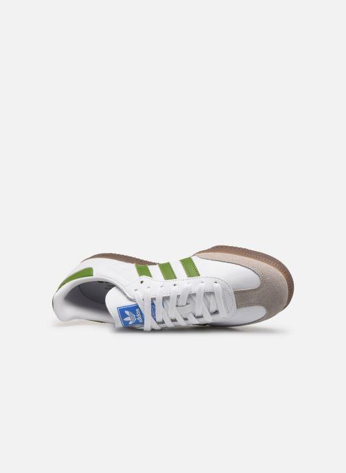Sneaker adidas originals Samba Og weiß ansicht von links